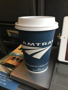 Amtrak Coffee